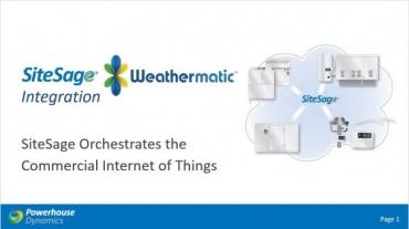 SiteSage Weathermatic webinar